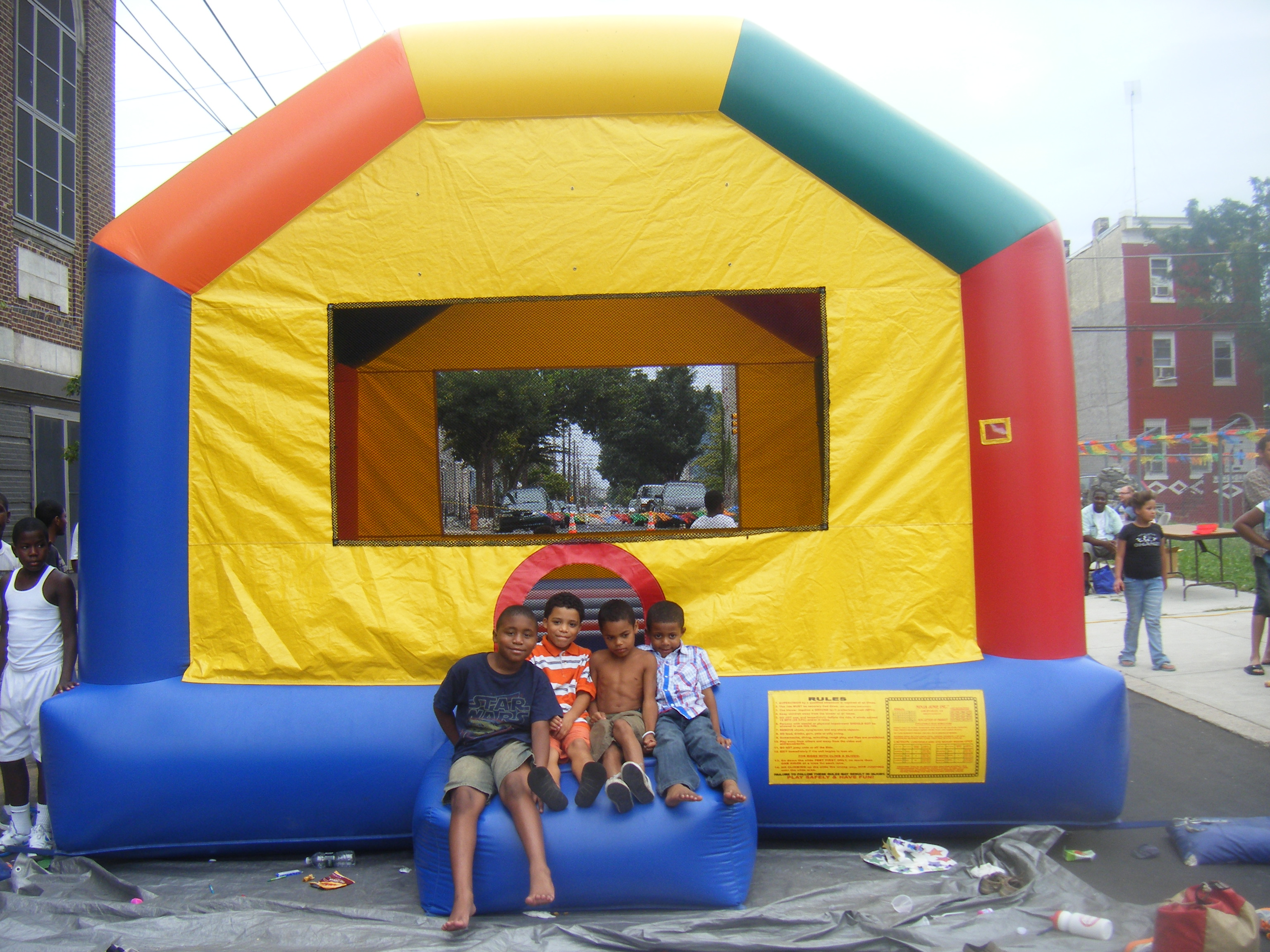 2012 Community Day: Moon Bounce