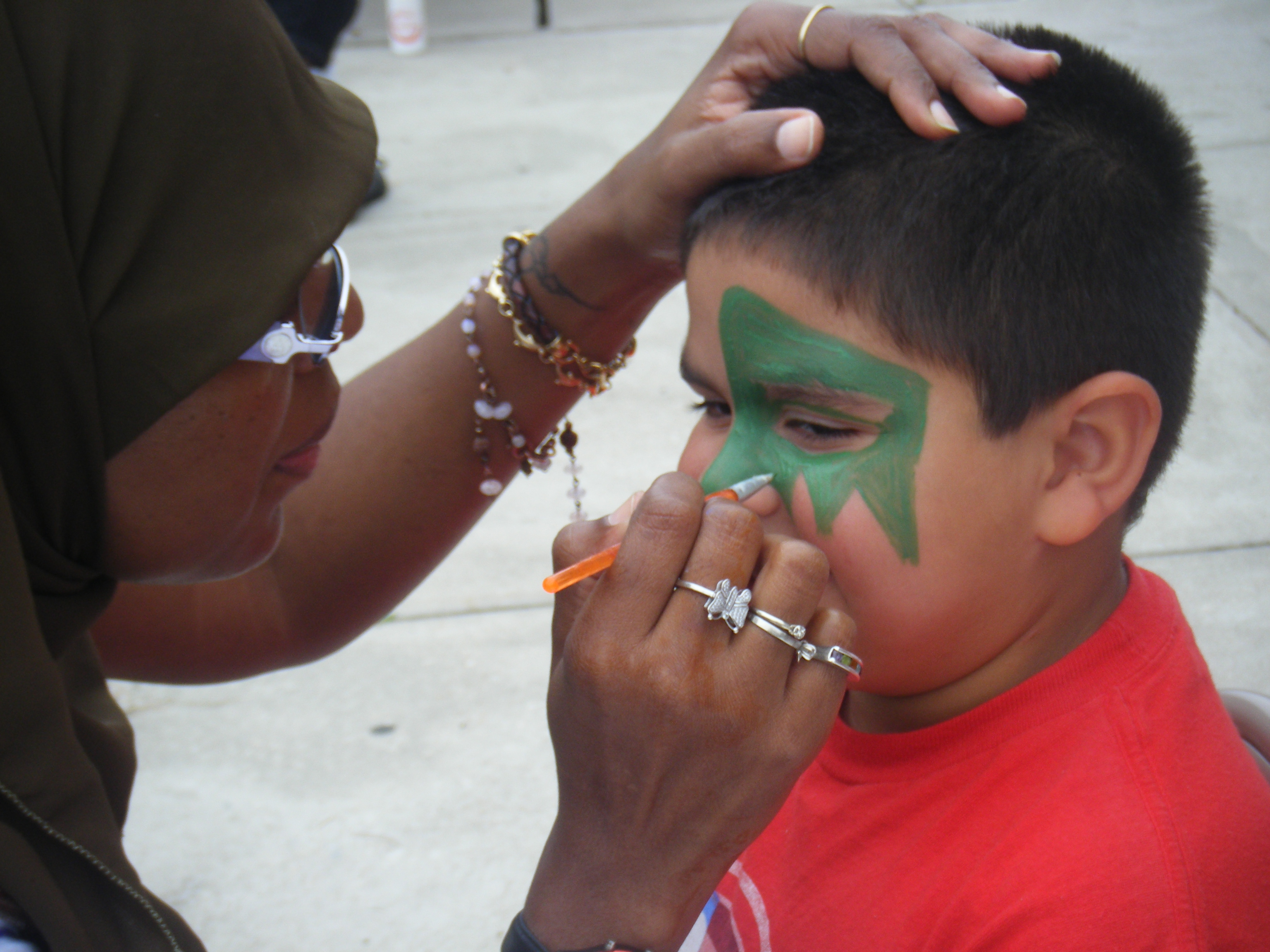 2012 Community Day: Face Painting