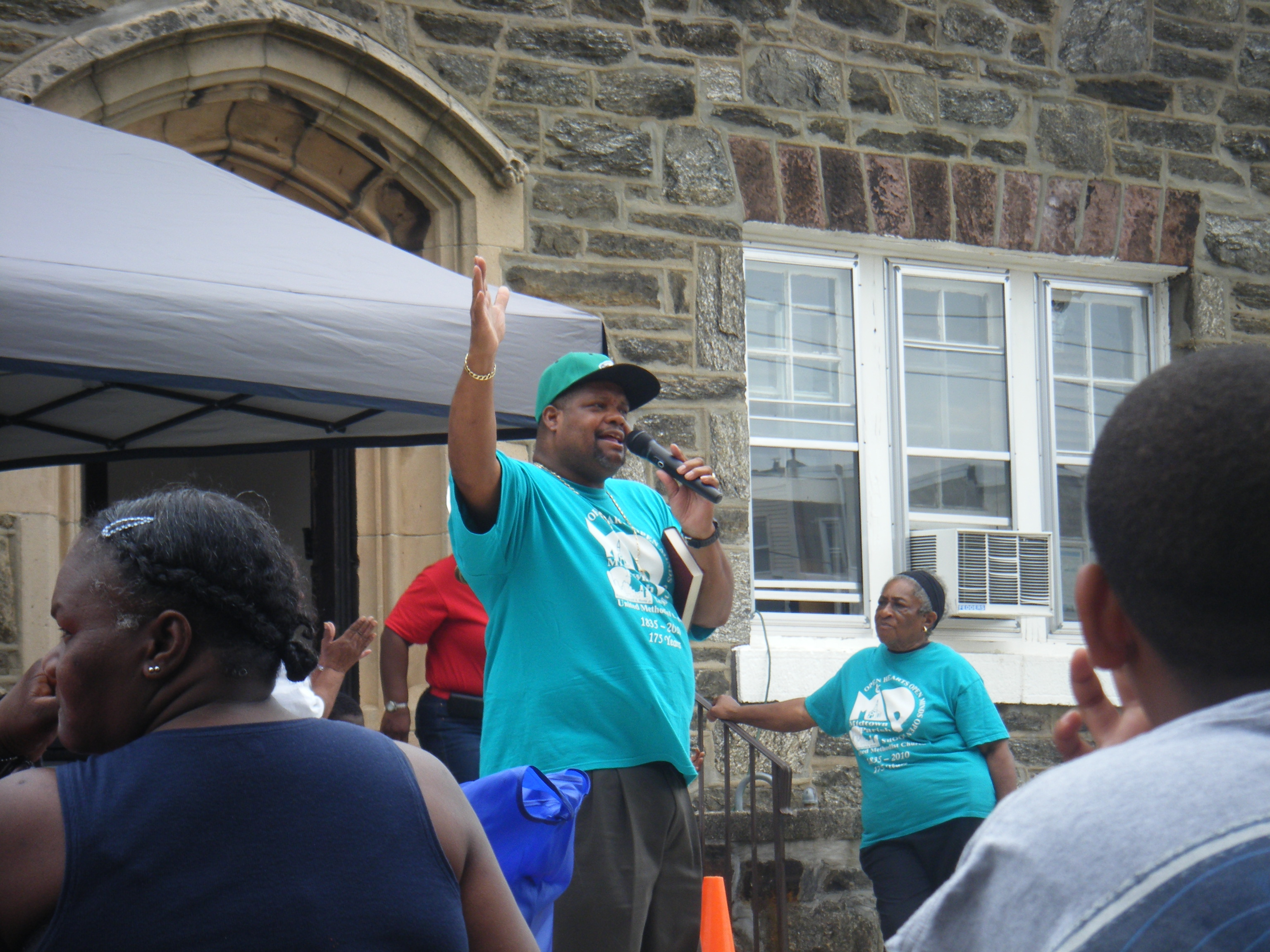 2012 Community Day: Reverend Reginald A. Monte, Jr., Pastor