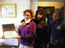 MLK Day of Service - Certificates of Recognition for Pringle Family